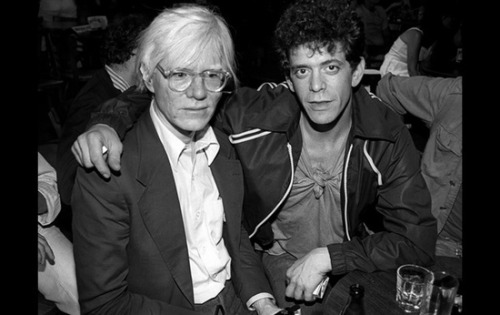 superseventies:  Andy Warhol and Lou Reed