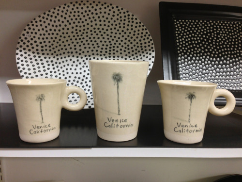 new Venice, California cups have been a nice way for visitors to take home a little piece of the action. Wine cup is cool like this too!