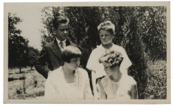 336. Happy Mother's Day! Ward (top left) with his mom Mary, and siblings Webster and Elinor.