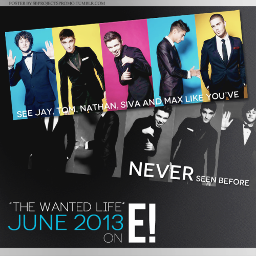 "The Wanted is having their own Reality Show on E!, called ""The Wanted Life""! It starts in June and will focus on the band moving to LA to record their third album. Make sure to watch it!"