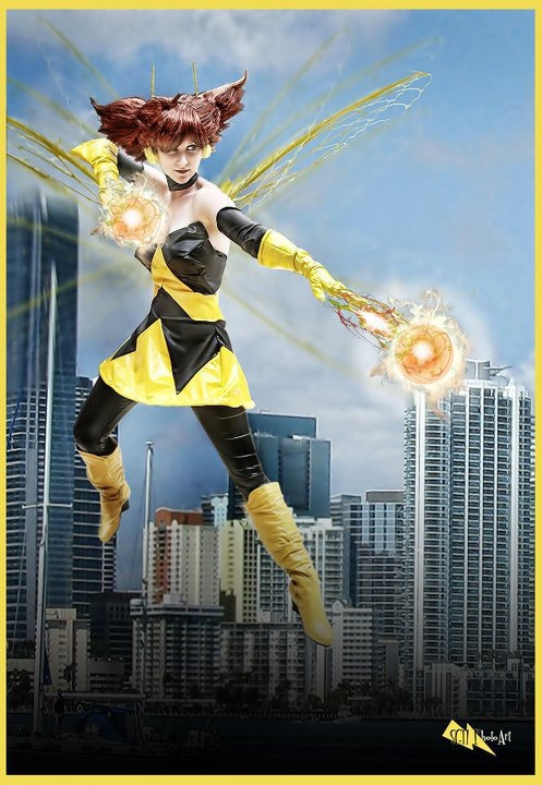 EMH Wasp | MegaCon 2011    Photo and photoshop by Stacey Hokett.