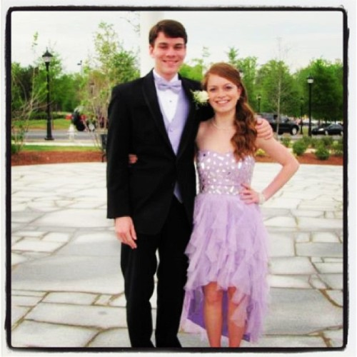 Awe, senior prom!!!  You look beautiful…have a blast :))