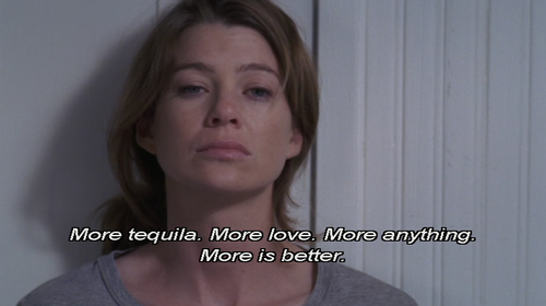 i will forever reblog anything grey's anatomy
