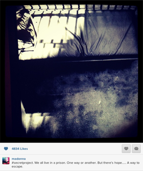 #Madonna #SecretProject New Instagram Photo