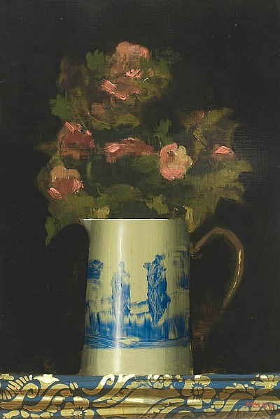 Martin Mooney Flowers in a Jug 21st century