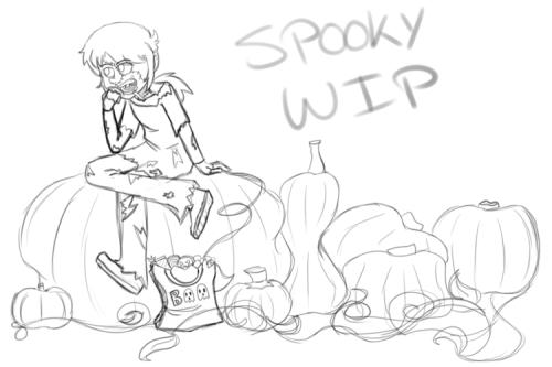 bloody-hime:  I'm drawin' Halloweeny things! \o/  rebloggin' fo' conscious peeps