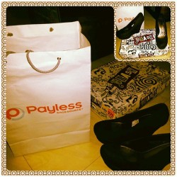I ♥ those wedges shoes @payless like this black one that i've bought, i wish i could buy all those other colors, soon ! Ahahaha xD #payless #shoesource #brash #black #closedshoes #wedge #latepost #instapic #like #love #addicted #l2l #f2f