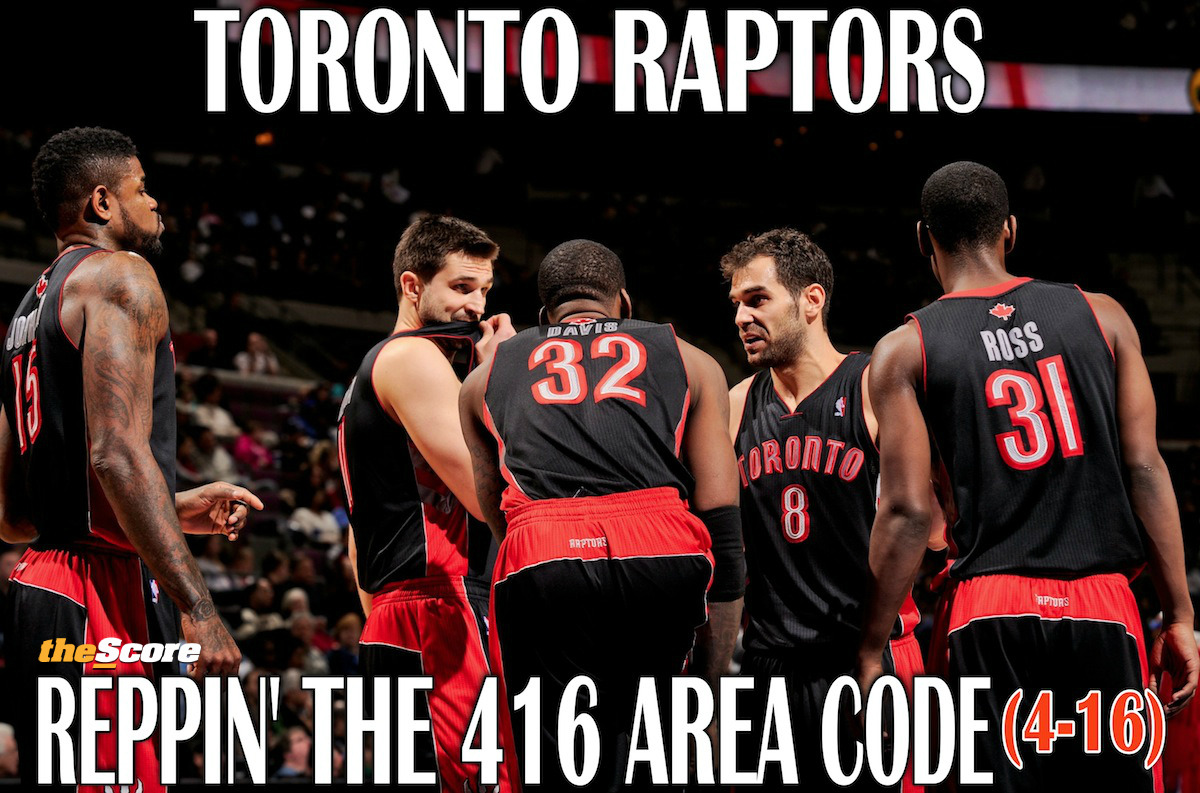 Pic: Relax, Raptors are 4-16 for a reason. #RTZ