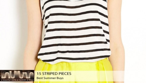 (via Best summer buys, Striped pieces everyone can wear)