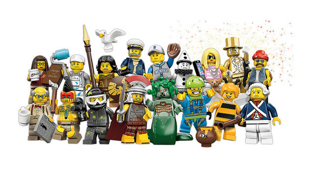 Lego Series 10 Minifigures Announced! on Flickr. See any Favorites or Must-Haves? Sea Captain Sad Clown (Pierrot! Is Harlequin next?) Librarian Golden Minifigure Grandpa (Get off his Lego Lawn!) Bumblebee Girl (Blind Melon?) Roman Commander Warrior Woman Tomahawk Warrior Trendsetter (Paris Hilton?!) Baseball Fielder Revolutionary Soldier Motorcycle Mechanic Medusa Skydiver Paintball Player Decorator