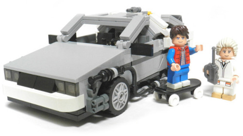 Back to the Future LEGO is happening…….  http://lego.cuusoo.com/ideas/view/96