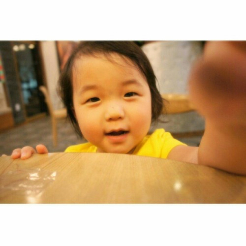 Bella ♡ #babycousin #family #korea #summer2011