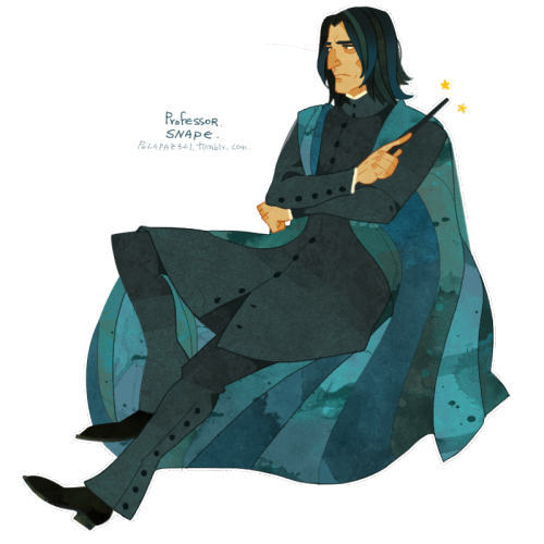 polapaz321:  Professor Snape. My favorite Harry Potter character.