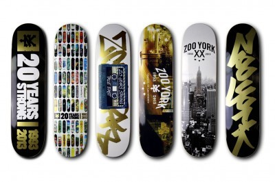 Zoo York 20th Anniversary Collection Skate Decks x T-Shirts  The term Zoo York coined by Upper West Side Manhattan Graffiti artist Alistill lives on as a brand…  View Post