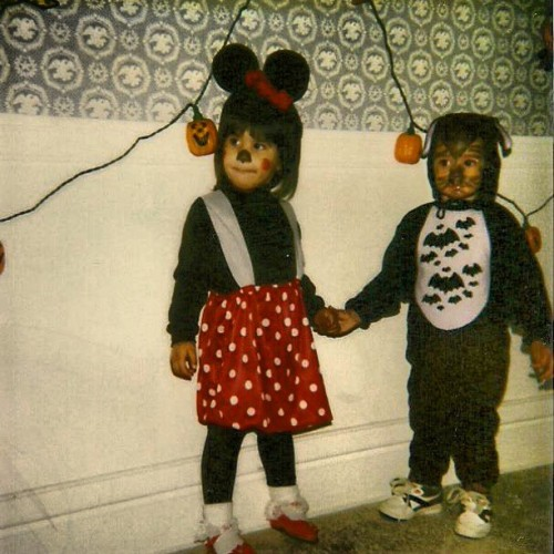 Halloween 1992. I was two. Lmfao @ cuinn… He's a bat.