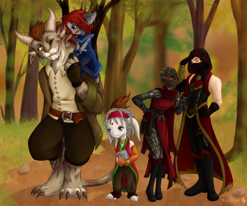 My GW2 OCs! ♥all together! :3THIS TOOK FOREVER!