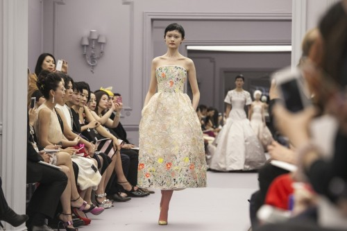 womensweardaily:    The Christian Dior presentation in Shanghai. Photo by Kevin Lee