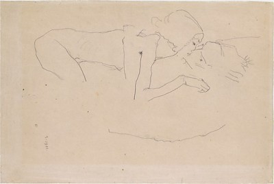 dreamdeath:  The Kiss by Egon Schiele