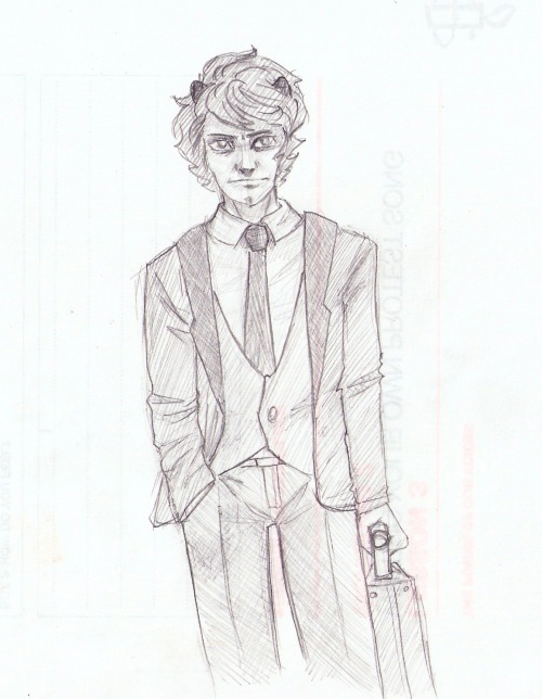 "I should just make a blog called ""Karkats in suits"" and put all suits/mobstucks in there"