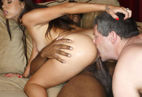 thegirlwiththespadetattoo:  greg69sheryl:  Will you give your wife a rimjob while she sits on a black cock?      (via TumbleOn)