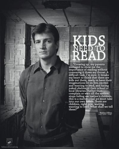 wordpainting:  Nathan Fillion