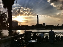 The Nile and Cairo Tower, Egypt submitted by: omiedahomie, thanks!
