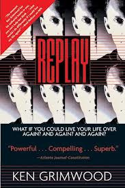 Monty Reads: Replay by Ken Grimwood.  My third time travel book this week.  I surprised myself by reading it all in one day!   Jeff Winston dies in 1988 and wakes up in his college-days body in 1963. He the relives the next twenty-five years until he dies again and wakes up again. And he does this a few times. He isn't trapped in watching the world go past, like Amis' Time's Arrow or Vonnegut's Timequake, he can change things, bet on Derby winners, marry someone else. Each replay he does something different.   The book explores Jeff's emotional reactions to reliving the same time, the same global disasters, presidential assassinations. It also explores ideas of loss, relationships, shared experiences, but also the importance of not wasting time. Even though he replays his life over and over again, Jeff doesn't have an infinite amount of time. It makes him appreciate the importance of being happy with yourself and doing what you need to do to be happy.  I quite enjoyed the book, although I sometimes got annoyed at the characters. I think it will be useful for my thesis, as the character experiences time non-linearly and this affects him in many ways. I'm still unsure of what direction my thesis is going, but it will have something to do with the experience of time, so yeah.