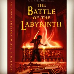Absolutely love this series. #percyjackson #theolympians #thebattleofthelabyrinth #sonofposeidon #series