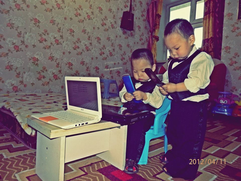 Little gentlemen :)