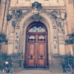 crazygrayzombie:  #architecture #door #beautiful
