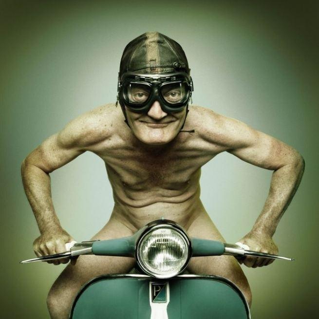 Nude biker babe fucking