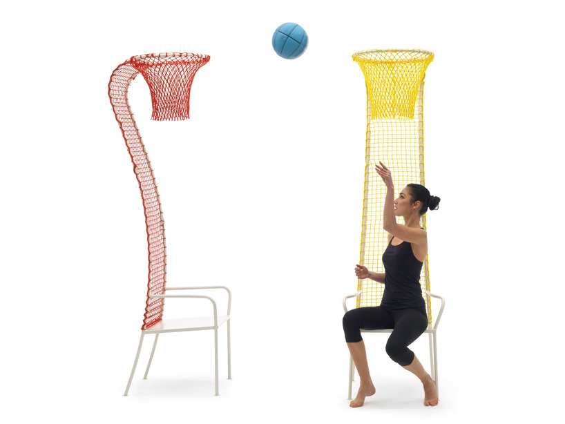 Basketball chairs by Emanuele Magini.
