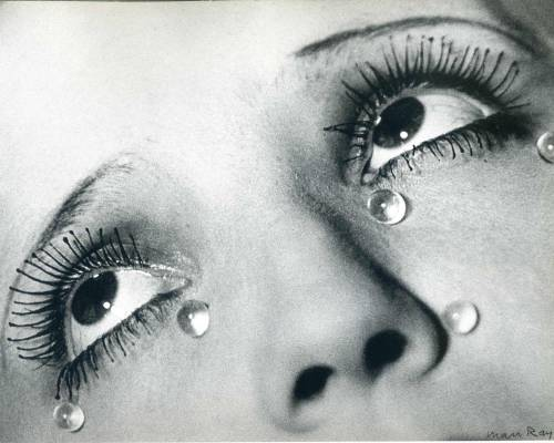 "andreaessemm:  Man Ray's ""Glass Tears (1932)""."