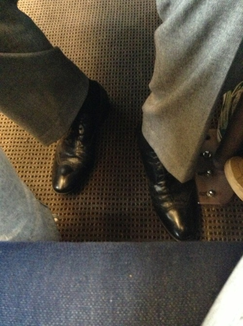 How to sit like a dick on the train  MOVE YOUR FUCKING FEET MAN