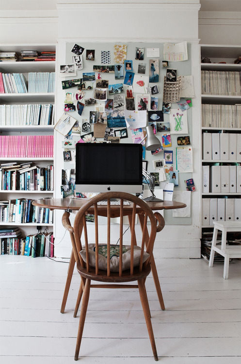 workspace envy (via Gorgeous House in London // 79 Ideas)