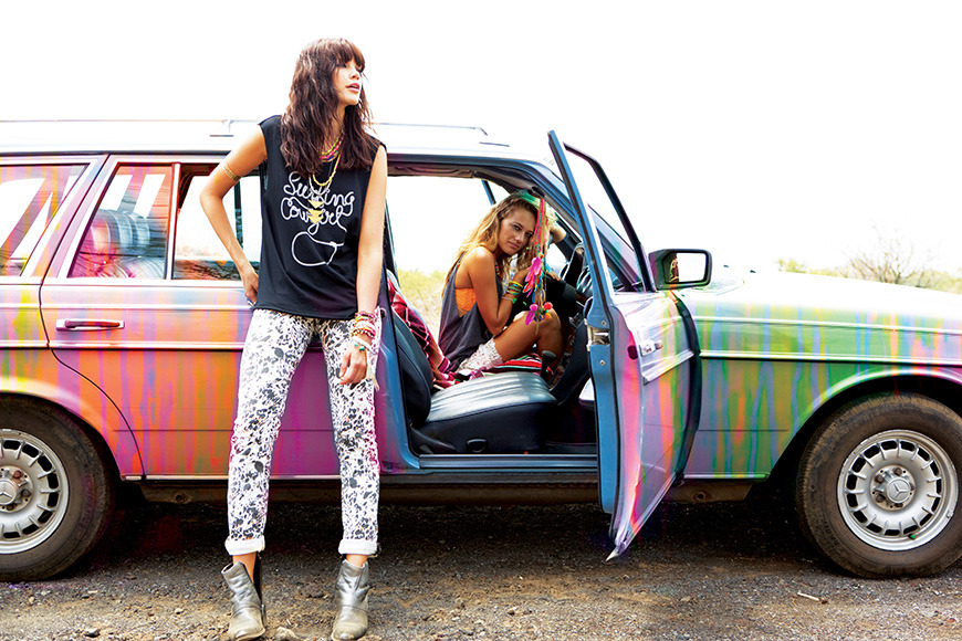 blogandthecities:  Pimp my car summer edition (Billabong spring 2013)