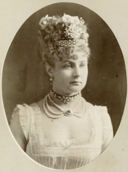Mlle Latour. Early 1870s