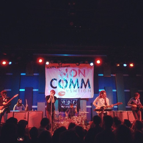 That's @wearephoenix at #Noncomm 2013 @wxpnfm