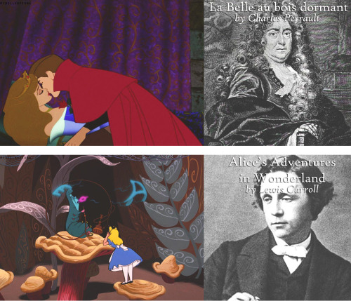 mydollyaviana:  Disney films & the books they were based on