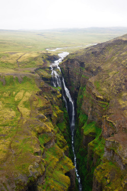 touchdisky:   Waterfall Glymur, Iceland by tarmo888
