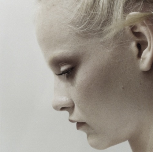 Ginta Lapina Backstage at Valentino Haute Couture Spring/Summer 2011