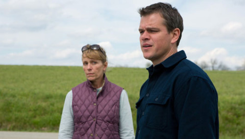 Promised Land movie takes on fracking     Frances McDormand, Matt Damon, John Krasinski and Rosemarie DeWitt star in a film that takes a small-town look at the big business of hydraulic fracturing.