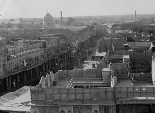 bauzeitgeist:  Cityscape of Baghdad, 1932. From the G. Eric & Edith Matson Collection, Library of Congress, via Foreign Policy Magazine