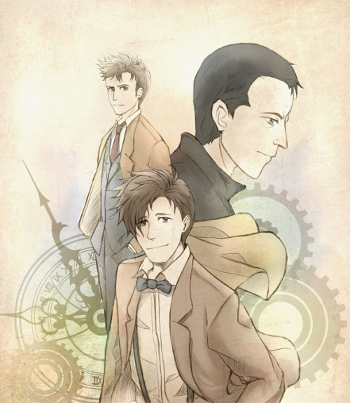 Doctor Who: The New Doctors by ~osmosis8