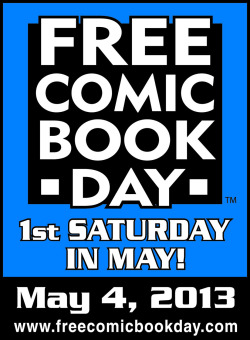 fashiontipsfromcomicstrips:   Free Comic Book Day is today! Head over to your local comic shop to pick up some free comics (a list of participating retailers can be found here).