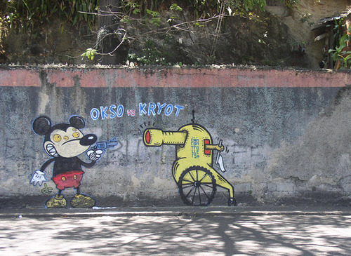 Caracas 2006 by Kryot on Flickr.graffiti