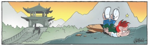 Sneak Peek Panel of the Week is out!  Why on EARTH is Ginger in China?…