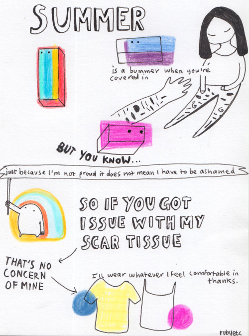 persepine:  rubyetc:  some thoughts for hot weather  My general approach  that's a good outlook, thank you.