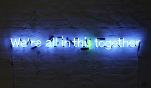 nevver:  We're all in thi$ together