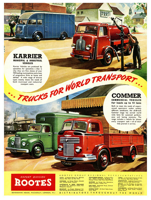 klappersacks:  Karrier & Commer by paul.malon on Flickr.